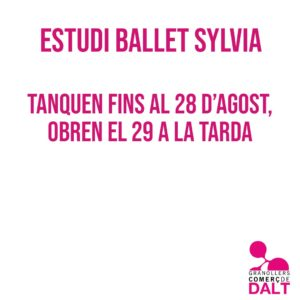 Estudi Ballet Sylvia