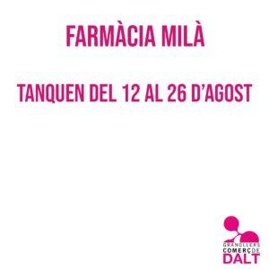 Farmàcia Milà