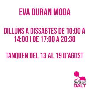 Eva Duran Moda Granollers