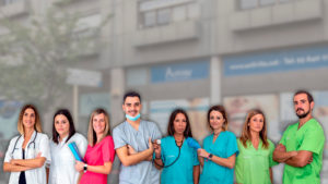 equipo profesional medico granollers