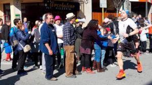 Comerç de Dalt i la Mitja marato Granollers