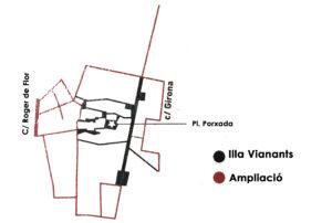 Ampliació illa vianants