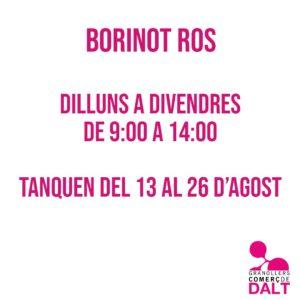 Borinot Ros Granollers