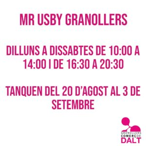 Mr Usby Granollers