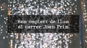 llums de Nadal joan Prim