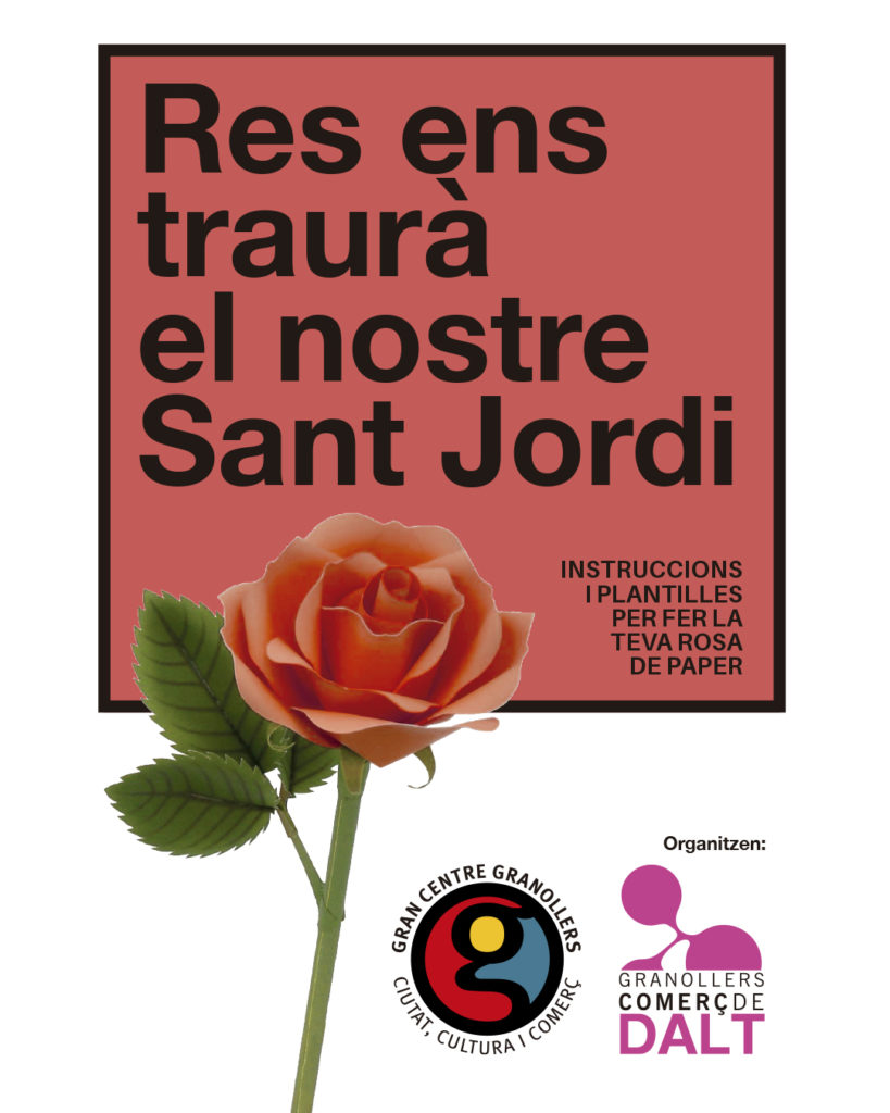 Sant Jordi 3.0 Comerç de Dalt