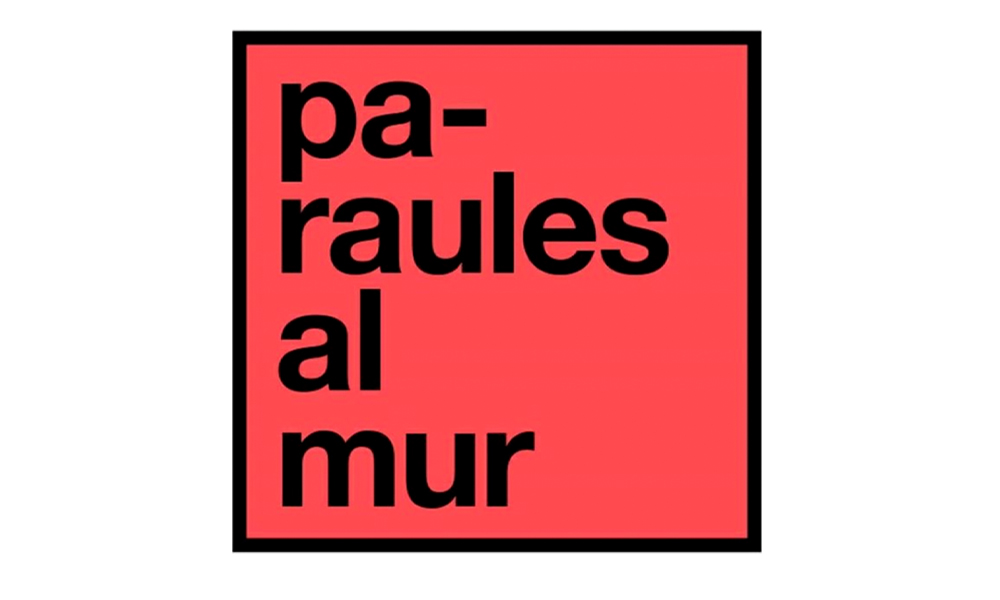 Paraules al mur Sant Jordi 3.0