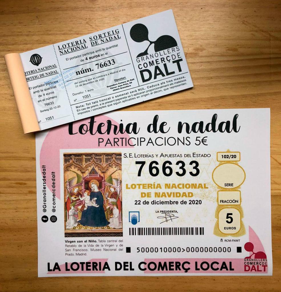 Loteria Comerç de Dalt 2020